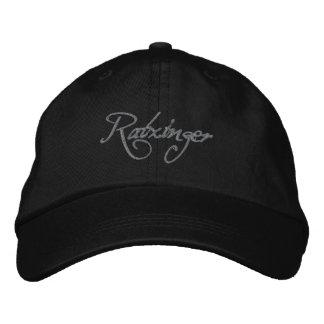 Ratzinger Baseballcap black Bestickte Kappe