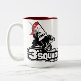 Räuber-Kaffee-Tasse Zweifarbige Tasse