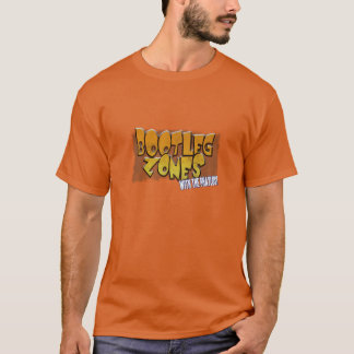 Raubkopie teilt T - Shirt in Zonen auf