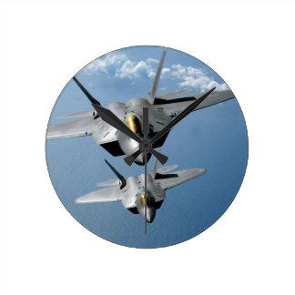 "RAUBVOGEL F-22 8"" WANDUHR"