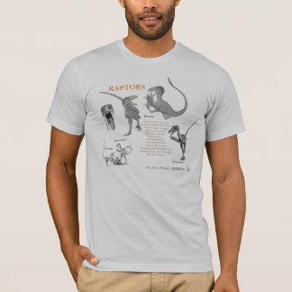 Raubvögel Ihr inneres Dinosaurier-Shirt Gregory T-Shirt