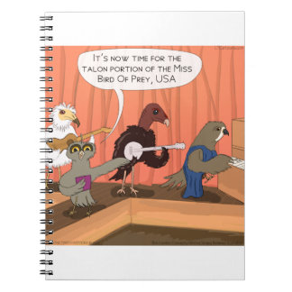 Raubvögel Talon-Wettbewerb Notizblock