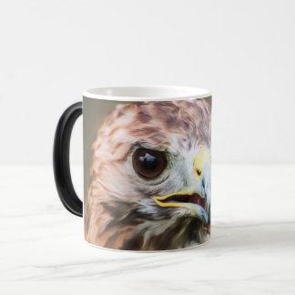 Raubvogel Verwandlungstasse