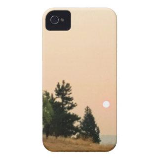 Rauch auf der Sonne iPhone 4 Case-Mate Hülle