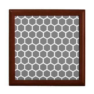 Rauch-Hexagon 2 Schmuckschachtel