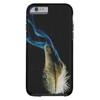 Rauch mit Feder Tough iPhone 6 Hülle