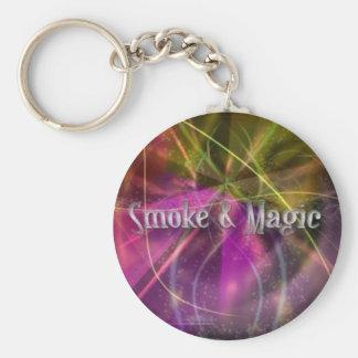 Rauch u. magisches Keychain Schlüsselanhänger