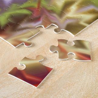 Rauch und Spiegel-abstraktes Puzzle