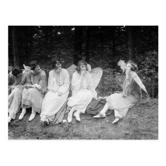 Rauchen Sie sie, wenn Sie sie erhielten: 1922 Postkarte