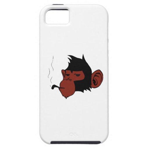 Rauchender Affe iPhone 5 Hülle