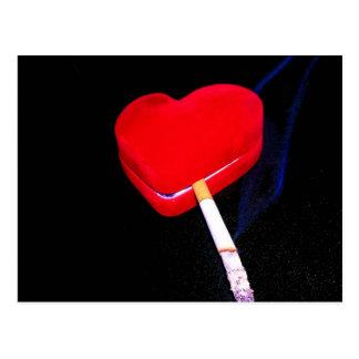 Rauchendes Herz Postkarten