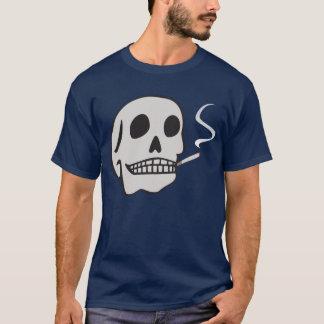 Rauchendes Schädel-Shirt T-Shirt