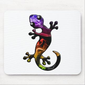 Rauchgecko-Eidechse Mousepads