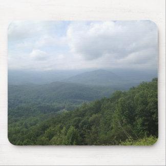 Rauchige Mountain View Mausunterlage Mauspads