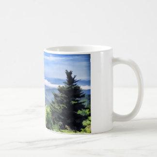 Rauchigen Bergclingmans Haube Kaffeetasse