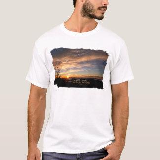 Rauchiger Mtn Sonnenaufgang/, wie prachtvoll… J T-Shirt