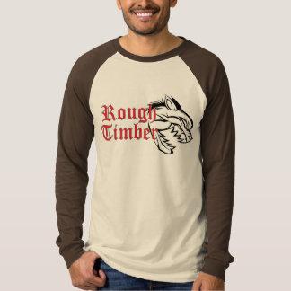 Raue Abdeckung im Freien T-Shirt