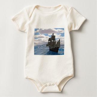 Raue Meere voran Baby Strampler