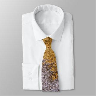Raue rohe Beton graue gelbe Bau-Wand Krawatte