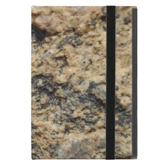raue sandige Steinoberfläche iPad Mini Hülle