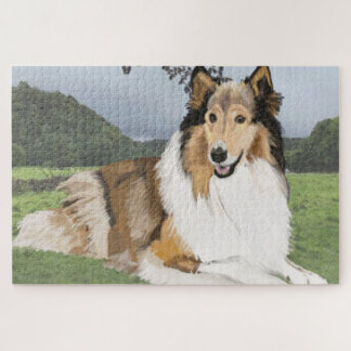 Rauer Collie Puzzle