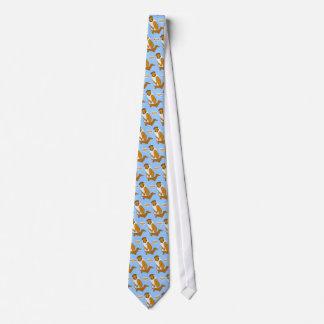 Rauer Collie-und Hotdog-Dackel Krawatten