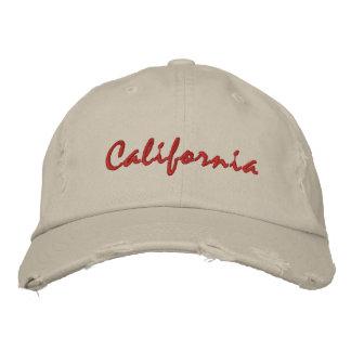 Rauer Hut einfachen Textes Kaliforniens