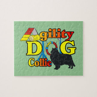 Raues Collie-Agility Puzzle