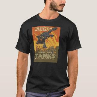 Raues Leckerei-EM verbinden Behälter T-Shirt
