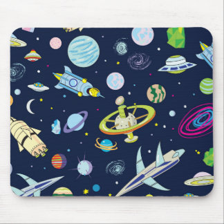 Raum-Abenteuer Mousepads