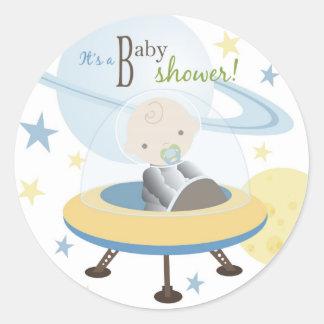 Raum-Baby laden Aufkleber ein