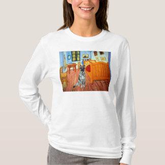 Raum bei Arles - Schäferhund T-Shirt