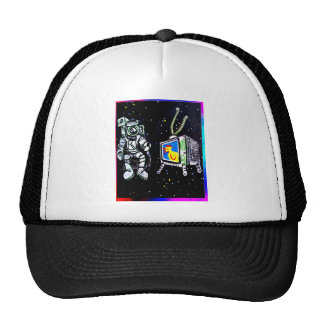 Raum-Beobachter Mütze