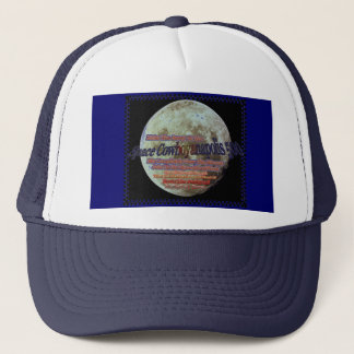 Raum Cowboyanapolis 500-Completely über dem Mond! Truckerkappe