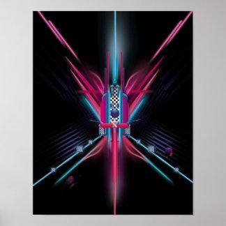 Raum des Lichtes Poster