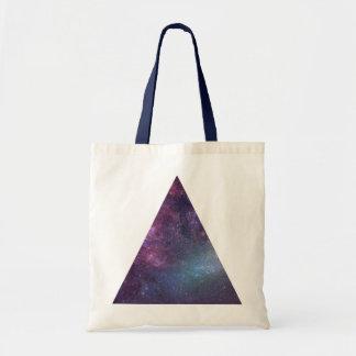 Raum-Dreieck (MiniTasche) Budget Stoffbeutel
