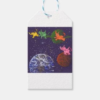 Raum-Elefanten Geschenkanhänger