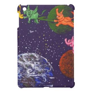 Raum-Elefanten iPad Mini Hülle