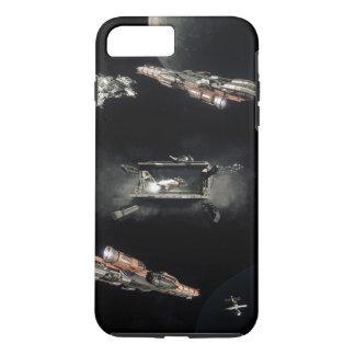 Raum-Fall iPhone 8 Plus/7 Plus Hülle