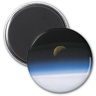 Raum-Foto-Mond-steigender Magnet