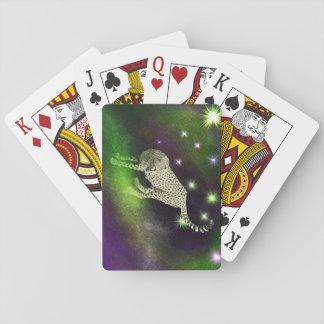Raum-Gepard Spielkarten