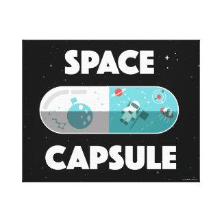 Raum-Kapsel Leinwanddruck