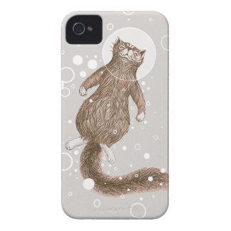Raum-Katze iPhone 4 Hüllen
