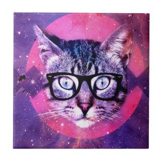 Raum-Katze Keramikfliese