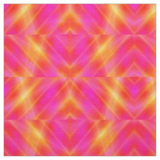 Raum-Lichtstrahlen - gelb-orangee Flieder - Gewebe Stoff