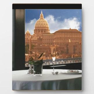 Raum mit einem dekorative Fotografie der Ansicht Fotoplatte