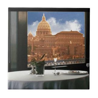 Raum mit einem dekorative Fotografie der Ansicht Keramikfliese