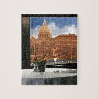Raum mit einem dekorative Fotografie der Ansicht Puzzle