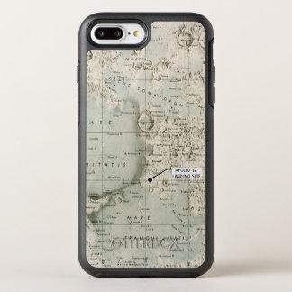 RAUM: MOND MAP, 1972 OtterBox SYMMETRY iPhone 8 PLUS/7 PLUS HÜLLE