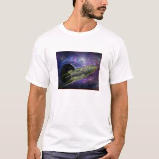 Raum-Schiffs-Reißverschluss T-Shirt